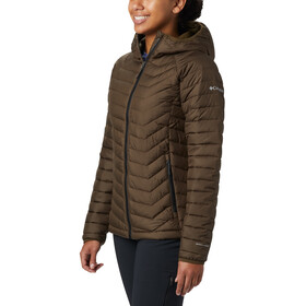 Columbia Powder Lite Kapuzenjacke Damen olive green